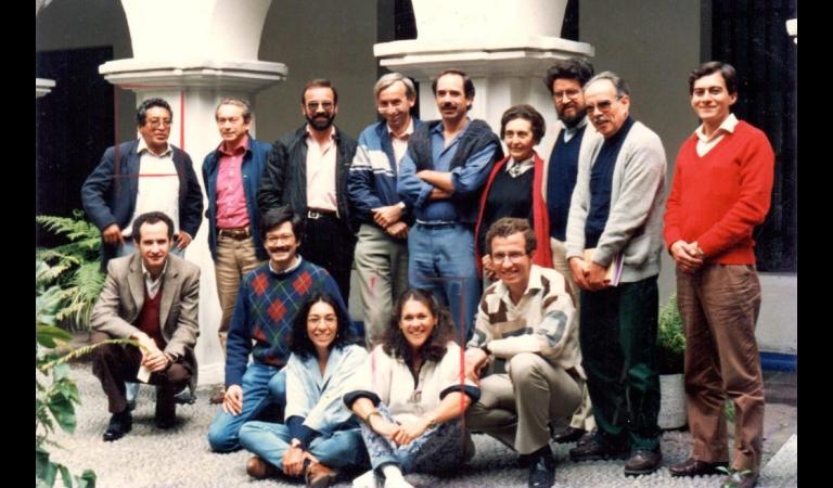 1990. Asamlea de Asociados del IEP.