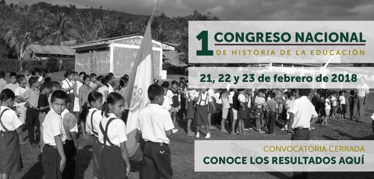 1 Congreso Nacional de Historia de la Educación