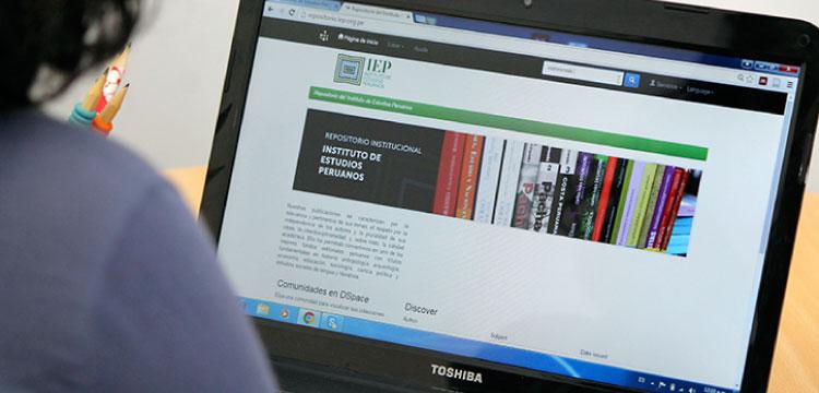 Nuevo repositorio institucional del IEP