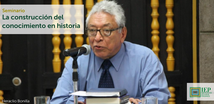 """""""La construcción del conocimiento en historia"""" a cargo de Heraclio Bonilla."""