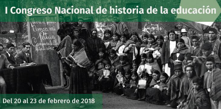I Congreso Nacional de historia de la educación
