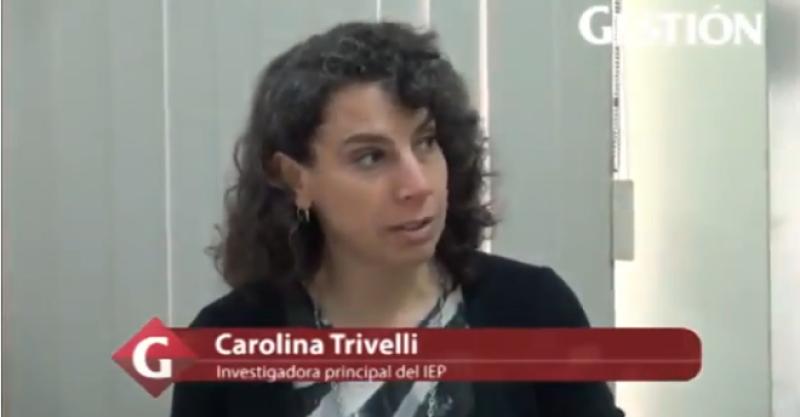 """Carolina Trivelli: """"Políticas orientadas a la clase media tendrían efecto de confianza empresarial y contracíclico muy rápido"""""""
