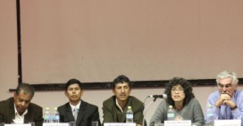 """""""Memorias de un soldado desconocido"""" se presentó en Ayacucho"""