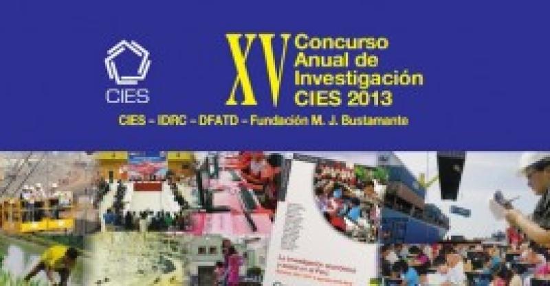 Cinco proyectos del IEP fueron ganadores en el Concurso Anual de Investigación del CIES