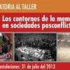 CONVOCATORIA: Taller para investigadores en temas de memoria y violencia
