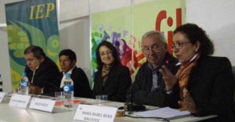 El IEP en la Feria Internacional del Libro