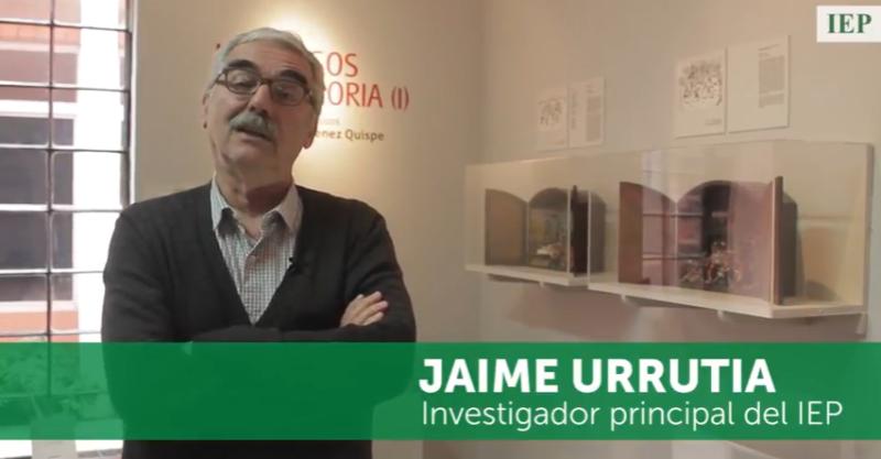 """""""El IEP tiene que seguir siendo la conciencia reflexiva del país"""": Jaime Urrutia"""