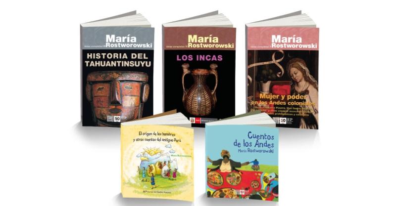 María Rostworowski: El IEP presenta libros de sus Obras Completas por sus 100 años de vida
