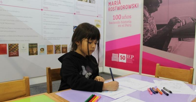 Cien años haciendo historia: Visita la sala dedicada a María Rostworowski en la FIL Lima