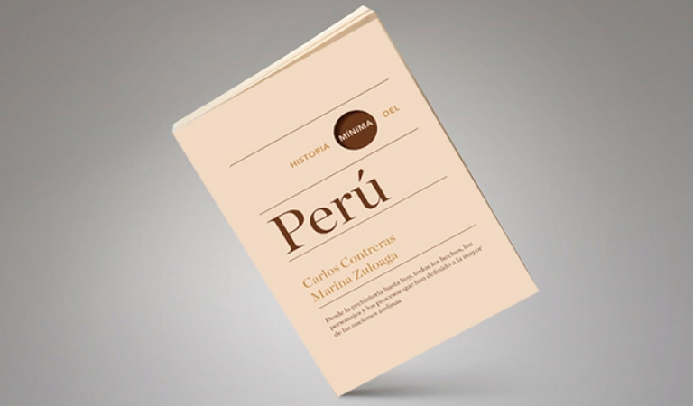 Historia Mínima del Perú: Carlos Contreras y Marina Zuloaga presentan su libro en el IEP
