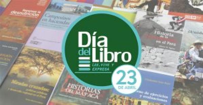 Día del Libro: Librería del IEP ofrece descuentos especiales hasta el 26 de abril