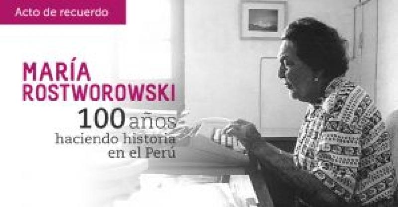 IEP, Ministerio de Cultura y Unesco recordarán a María Rostworowski en Museo de Sitio de Pachacamac