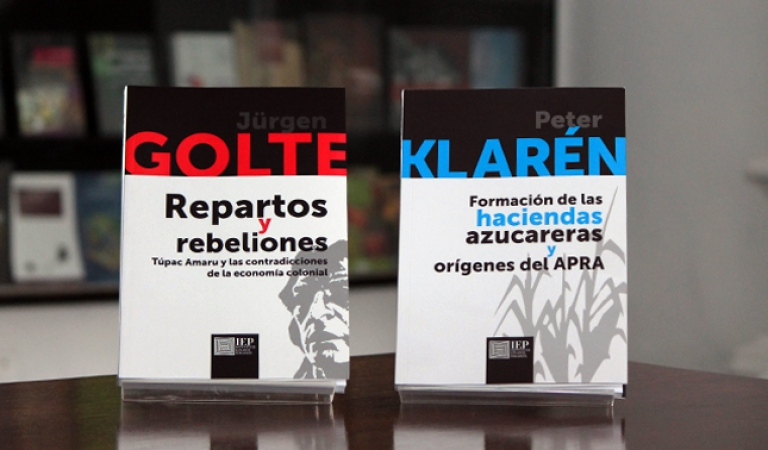IEP presenta nueva serie editorial con sus libros clásicos en ciencias sociales