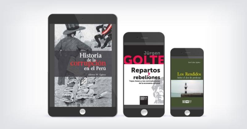 Quince libros electrónicos del IEP a precios especiales por Fiestas Patrias