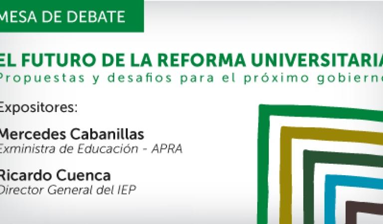 El futuro de la reforma universitaria: propuestas y desafíos para el próximo gobierno | DEBATE