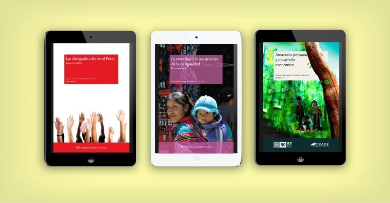 Para debatir sobre la desigualdad en el Perú: Nueve ebooks del IEP con descarga libre