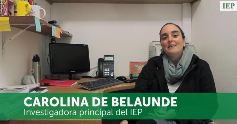 """""""Trabajar en el IEP es un privilegio, pero con una gran responsabilidad"""": Carolina de Belaunde"""