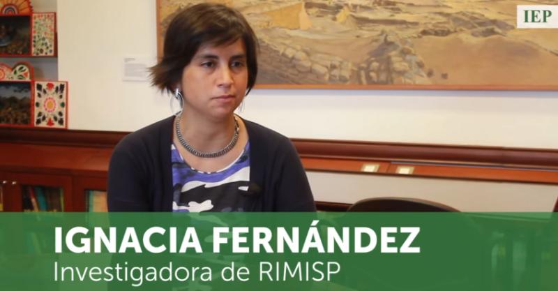 Los promedios nacionales esconden las diferencias internas de los países: Ignacia Fernández