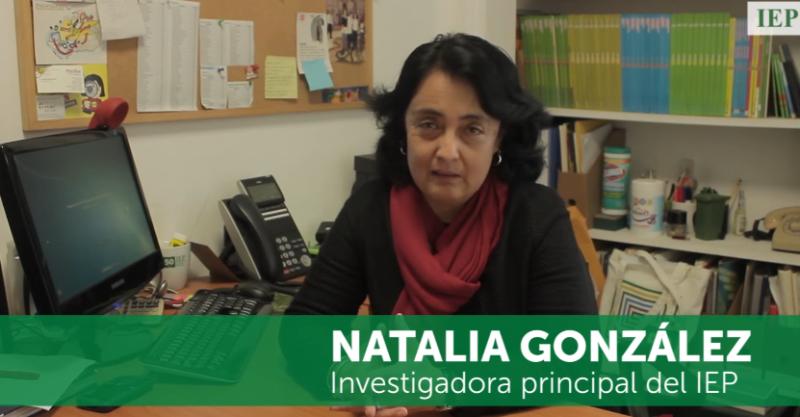 La formación de investigadores en el IEP – Natalia González