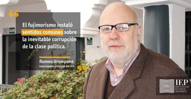 Romeo Grompone fue entrevistado por Mario Ghibellini