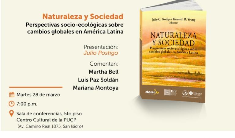 """Presentación del libro """"Naturaleza y Sociedad"""""""