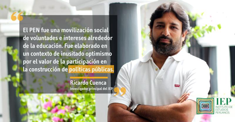 ¿Necesitamos un proyecto educativo nacional?, por Ricardo Cuenca