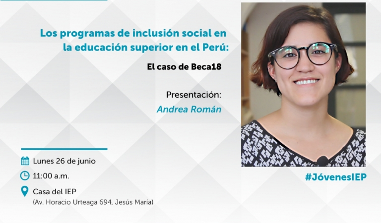 Los programas de inclusión social en la educación superior en el Perú: el caso de Beca 18.