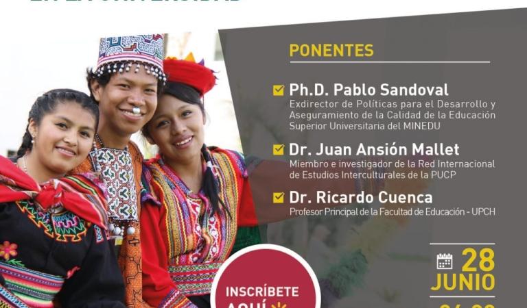 """Conferencia: """"Educación intercultural en la universidad"""""""
