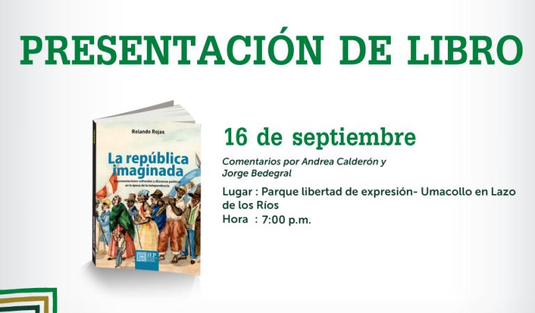 """Presentación del libro """"La República Imaginada""""- Arequipa"""