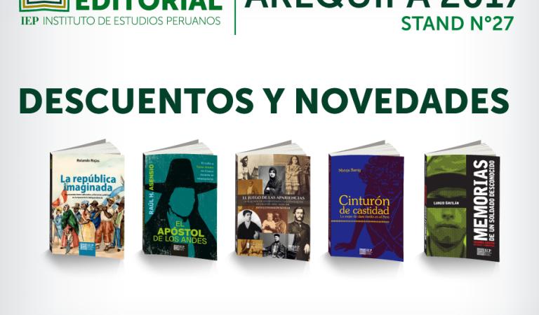 """Feria del libro de Arequipa- Presentación del libro """"La República Imaginada"""""""