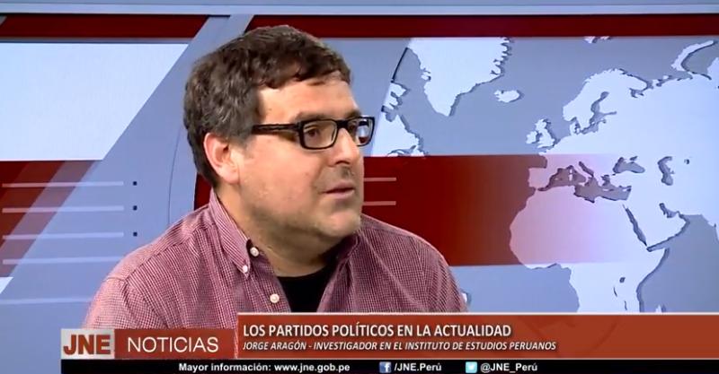 [Vídeo] Entrevista a Jorge Aragón: Los partidos Políticos en la actualidad