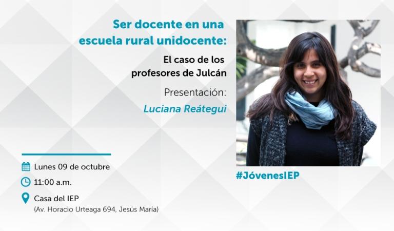 Ser docente en una escuela rural unidocente: El caso de los profesores de Julcán