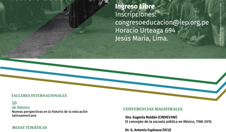 I Congreso de historia de la educación