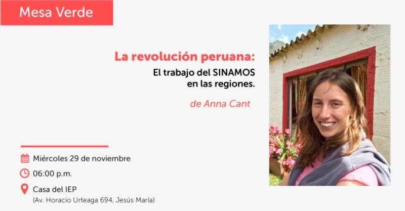 """""""La Revolución Peruana: el trabajo del SINAMOS en las regiones"""""""