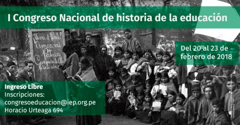 """Asiste al """"Primer Congreso Nacional de Historia de la Educación"""""""