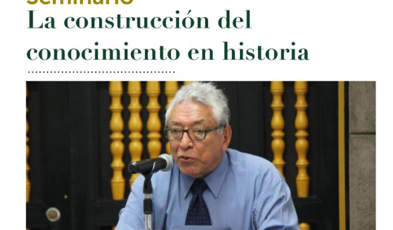 La construcción del cocimiento en historia