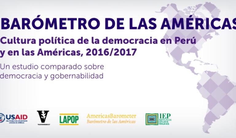Presentación Barómetro de las Américas 2017