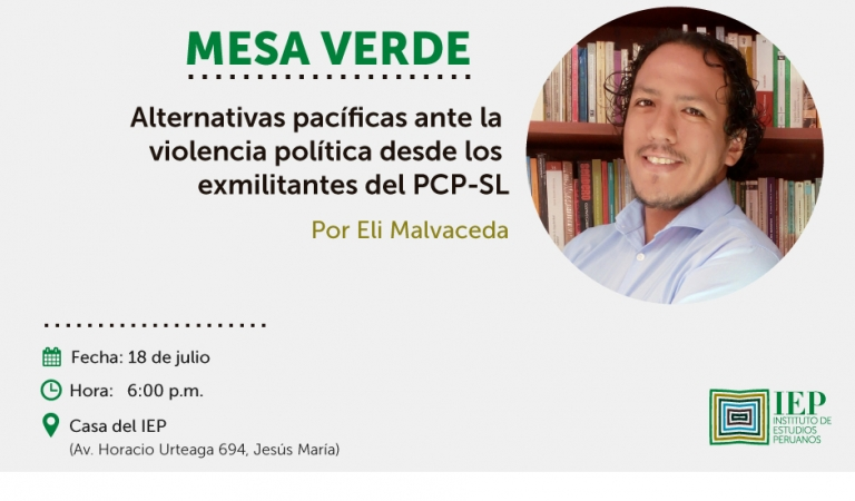 Alternativas pacíficas ante la violencia política desde los exmilitantes del PCP-SL