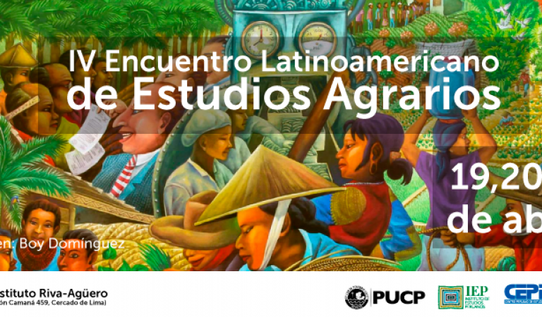 IV Encuentro Latinoamericano de Estudios Agrarios
