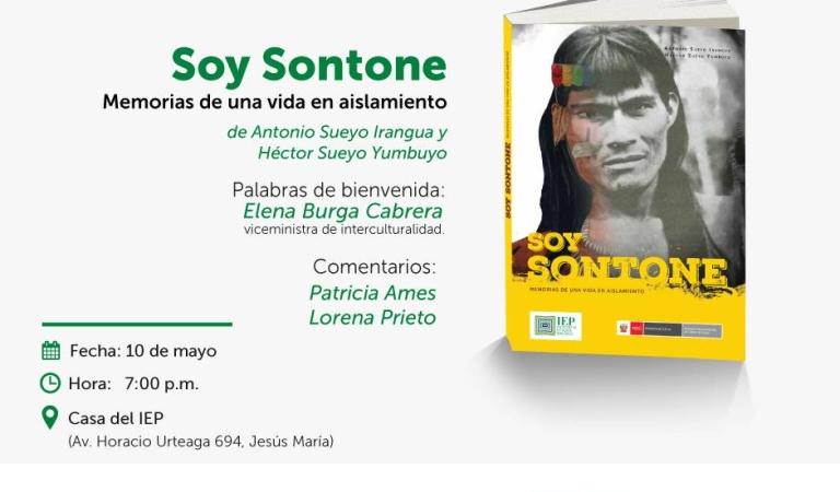 """""""Soy Sontone. Memorias de una vida en aislamiento"""""""