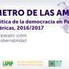 DOSSIER: VI Ronda del Barómetro de las Américas en el Perú