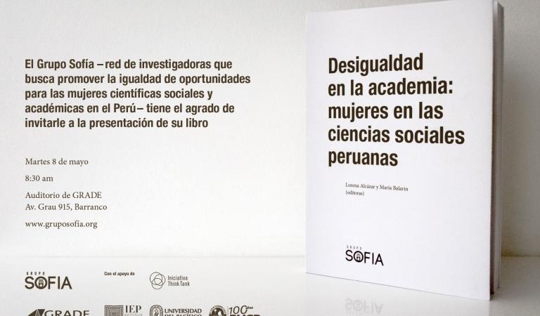 """Presentación del libro """"Desigualdad en la academia: mujeres en las ciencias sociales peruanas"""""""