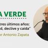 """[VÍDEO] """"Velasco, los tres últimos años: enfermedad, declive y caída"""" de Antonio Zapata ."""