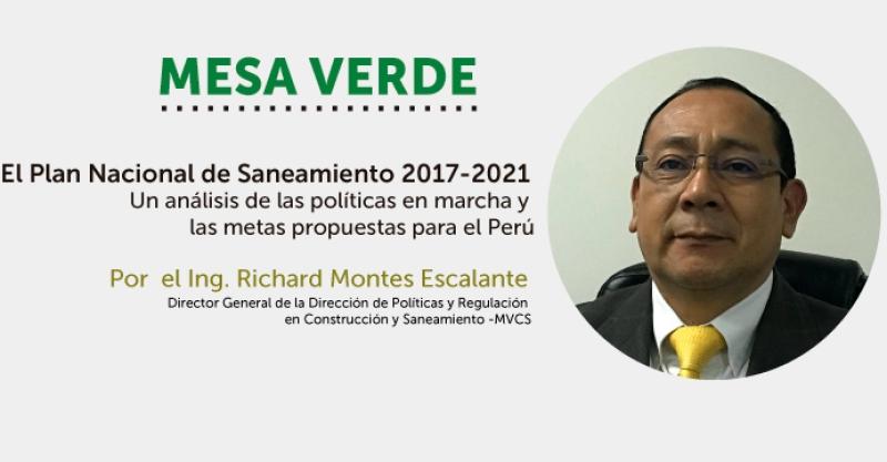 [VÍDEO] El Plan Nacional de Saneamiento 2017-2021.Un análisis de las políticas en marcha y las metas propuestas para el Perú