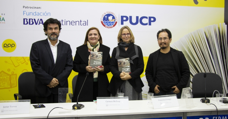 """[PRESENTACIÓN DE LIBRO] """"Tiempo de guerra: Estado, nación y conflicto armado en el Perú, siglos XVII-XIX"""""""