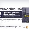 [Arequipa] [BMVLL] Historia mínima de Arequipa. Desde los primeros pobladores hasta el presente.