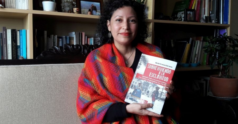"Maribel Arrelucea Barrantes: ""Concebimos el tema de la esclavitud de manera monolítica"""