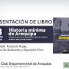 """""""Historia mínima de Arequipa. Desde los primeros pobladores hasta el presente"""""""