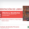 """Presentación del libro """"Afectos y desafectos. Las diversas subculturas políticas en Lima"""", de Hernán Chaparro"""