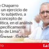 Afectos y desafectos de Chaparro, por Augusto Álvarez Rodrich